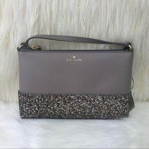 Kate Spade Greta Court Glitter Ramey Crossbody Bag